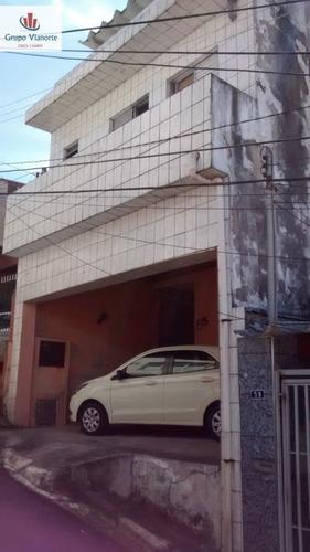 Sobrado A Venda No Bairro Vila Medeiros Em São Paulo - Sp.  - Jv637-1