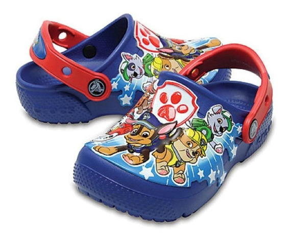 Crocs Originales Fun Lab Paw Patrol Patrulla Canina Asfl70