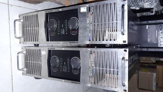 Amplificador Potencia Attack Pp6002 - 12 X Sem Juros
