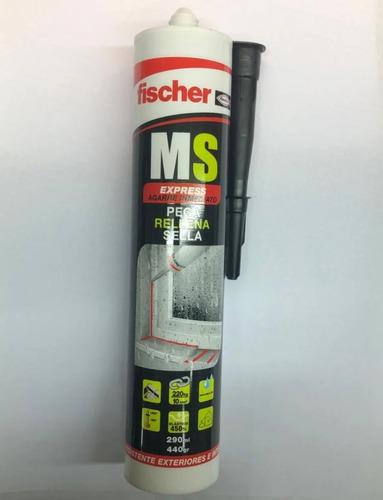 Sellador Negro Adhesivo Pega Rellena Sella Ms Fischer 290 Ml