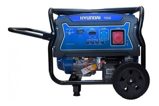 Generador Eléctrico Y Manual Hyundai Gasolina 6 - 6,5 Kw