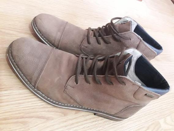 Borcegos / Zapatos Hombre Marca Los Dones De Cuero N°41