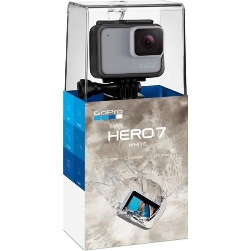 Câmera De Ação Gopro Hero 7 White 10mp Vídeo Full Hd Wi-fi