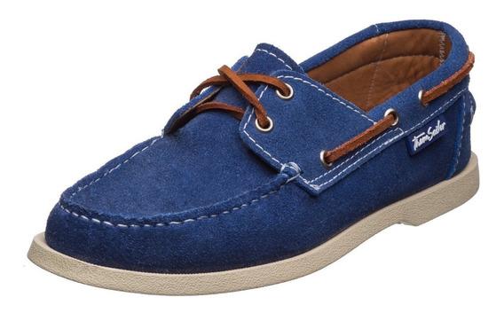 Zapatos Thom Sailor Caballero Nautico Gamuza