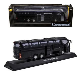 Autobus Irizar Negro Esc 1:50 Cararama Empaque Individual