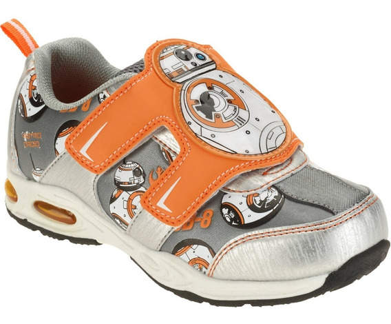 Zapatillas Star Wars Luz Disney Importadas Usa V.crespo