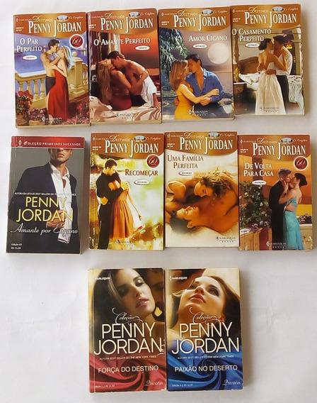 Romances Harlequin Penny Jordan Com 10 Livros Frete Gratis