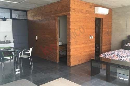 Departamento Amueblado Tipo Estudio En La Zona De Chapultepec