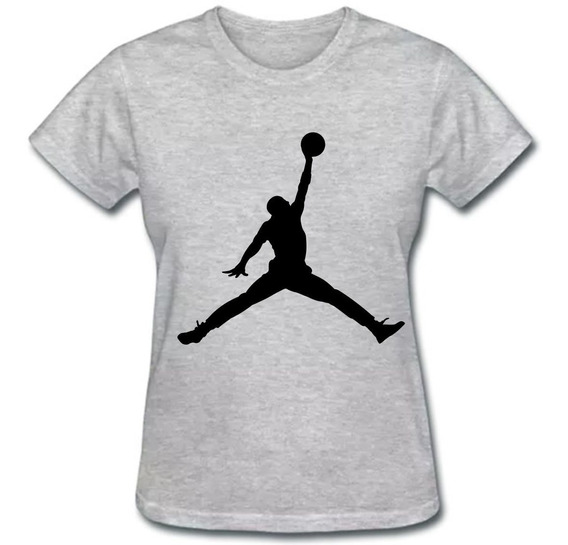 Camiseta Baby Look Air Jordan Feminina