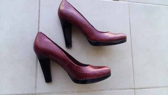 Envio Inc Zapatos Mujer Taco Stilettos Nine West Bordo 38