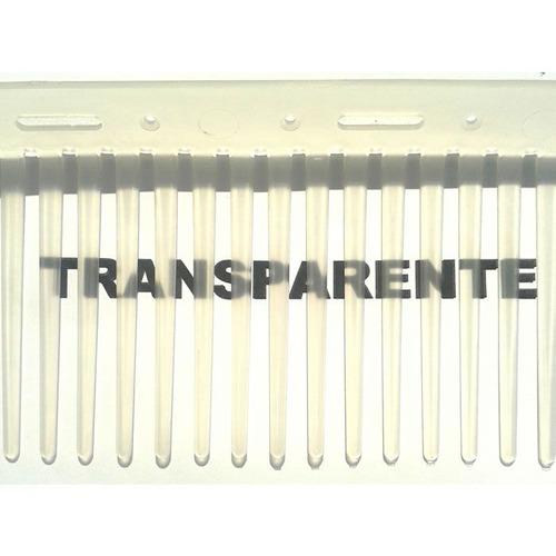 Passarinheira Universal Kit 45 Metros Transparente