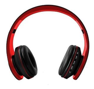 Auriculares Bluetooth Radio Fm Sd Vincha En Negro Epeb016