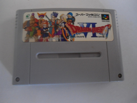 Dragon Quest Vi (6) - Original Japonês - Frete 15