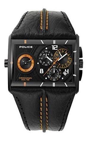 Cronógrafo De Polícia Dual Time Watch 11397j - Masculino