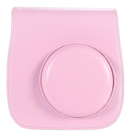 Leather Camera Case Bag Cover For Fuji Fujifilm Instax Mini8