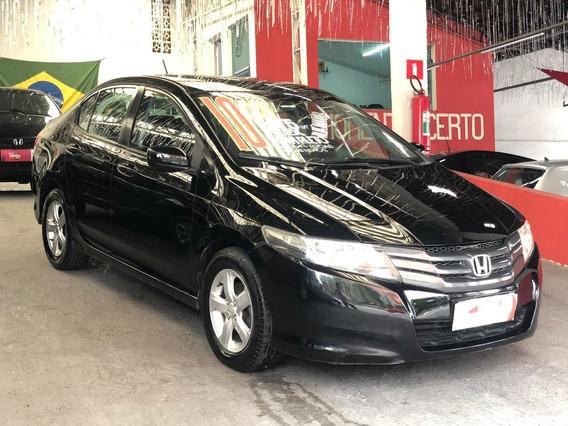 Honda City 2010 1.5 Lx Flex Automático - Ótimo Estado