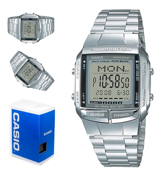 Reloj Casio Retro Databank Hombre Db-360-1a