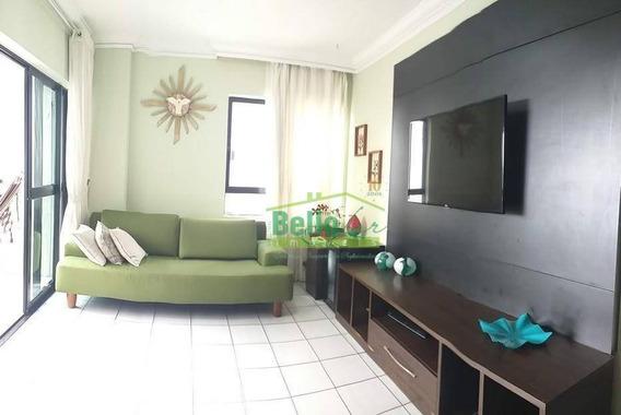 Apartamento Com 4 Dormitórios Para Alugar, 130 M² Por R$ 2.500,00/mês - Rosarinho - Recife/pe - Ap2832