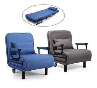 Sofa Cama Individual Plegable Entrega 4 A 7 Dias Habiles