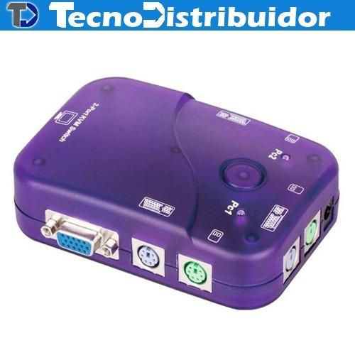 Switch Kvm 2 Puertos Dd212 Vcom.td