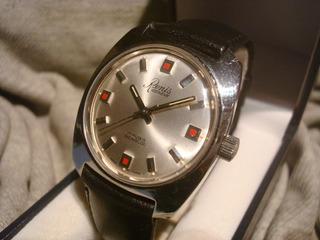 Hermoso Reloj Renis Con Maquina Tissot 2451 New! Nos! Joya!