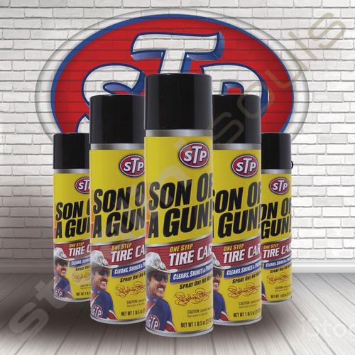 Imagen 1 de 4 de Stp | Son Of A Gun | One Step Tire Car | Renovador Neumatico