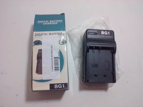 Carregador Bivolt Bateria Camera Digital Bg1 (4.2v 600mah)