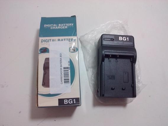 Carregador Bivolt Bateria Camera Digital Bg1 (4.2v 600mah)