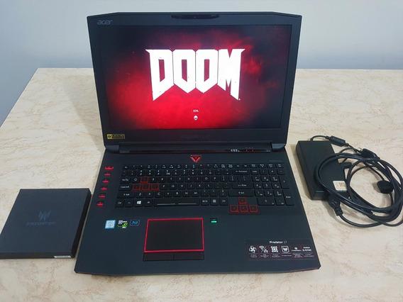Notebook Gamer Predator 17 - G9-792-790g - Intel I7 Gtx 980m 17