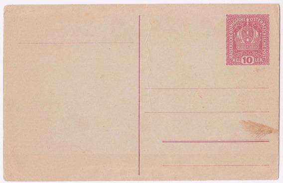 Austria Antigua Carta Postal Sin Uso Al95