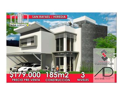 Casa Mirador Hermosa Con Jardines ¢106000000 Construido