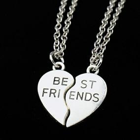 Colar Best Friends ( Melhores Amigos ) 2 Partes Coração