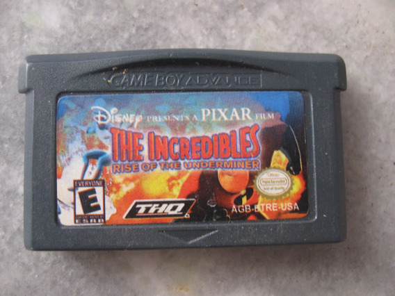 The Incredibles Paralelo Para Game Boy Advance