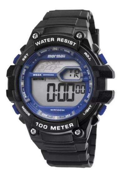 Relógio Mormaii Masculino Wave Mo3480/8a Azul Oferta