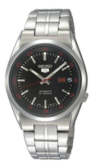 Relógio Seiko Masculino Automático 50 Metros Snkj17b1 P1sx