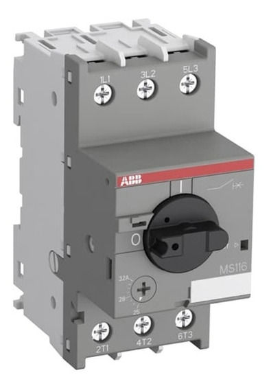 Abb 1sam250000r1006 Guardamotor, Ms116-1.6, 1.6amperes