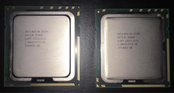 Kit 2 Proc Intel Xeon E5504 2.0g Quad Dissipador Hp Ml350 G6