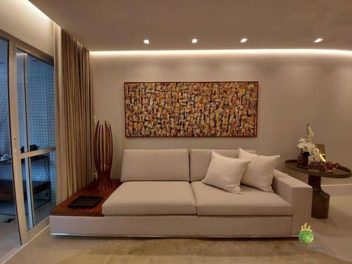 Apartamento À Venda, 87 M² Por R$ 629.000,00 - Cidade Jardim - Salvador/ba - Ap0985