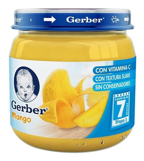Papilla Gerber Etapa 2 Sabor Mango 113 Grs.