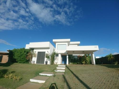 Imagem 1 de 23 de Casa Térrea Com Mesanino Para Venda No Condomínio Campo De Toscana, Vinhedo/sp. - Ca00174 - 69715209