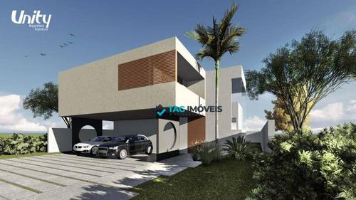 Imagem 1 de 17 de Casa Com 3 Dormitórios À Venda, 310 M² Por R$ 2.940.000,00 - Alphaville Dom Pedro 2 - Campinas/sp - Ca0657