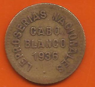 Ficha De Leproseria Nacional Cabo Blanco 1 Locha 1936 Error