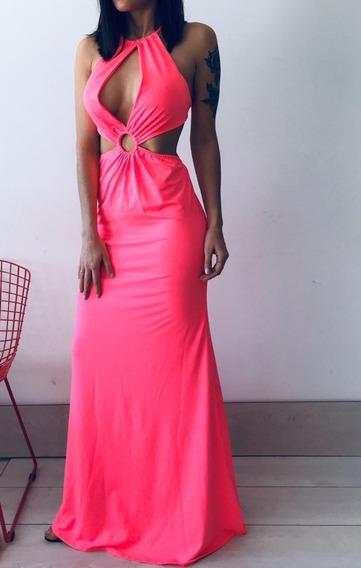 Vestido Largo Mujer Fiesta Noche M1732