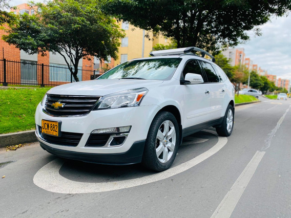 Chevrolet Traverse 3600 V6 Blanco Perla 5 Puertas