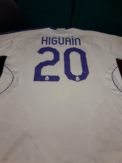 Camiseta Higuian #20 Real Madrid 2004 Xl Original