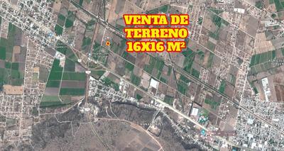 Se Vende O Cambia Terreno De 256 M2, 16x16m2