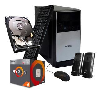 Pc Gamer Completa Amd Ryzen 3 2200g 8gb 500g Vega 8 Fortnite
