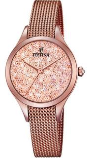 Reloj Festina Con Cristales Swarovski F20338.2