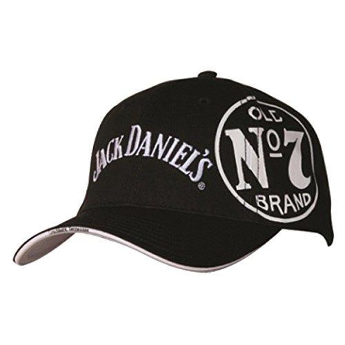 Jack Daniels Probado Y Verdadera Gorra De Béisbol Negro Jd77