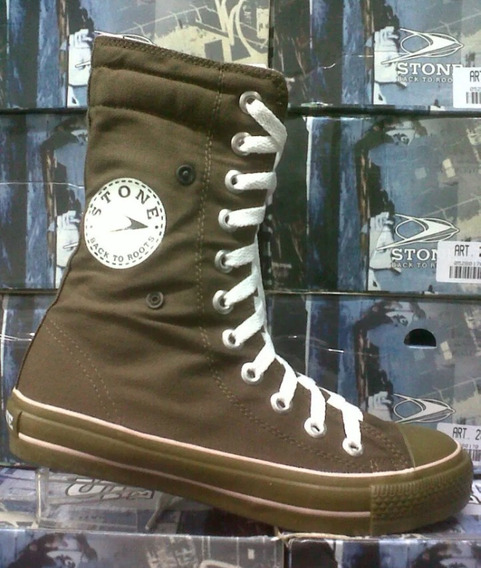 Botas Stone Original C/broche Lateral Local Microcentro